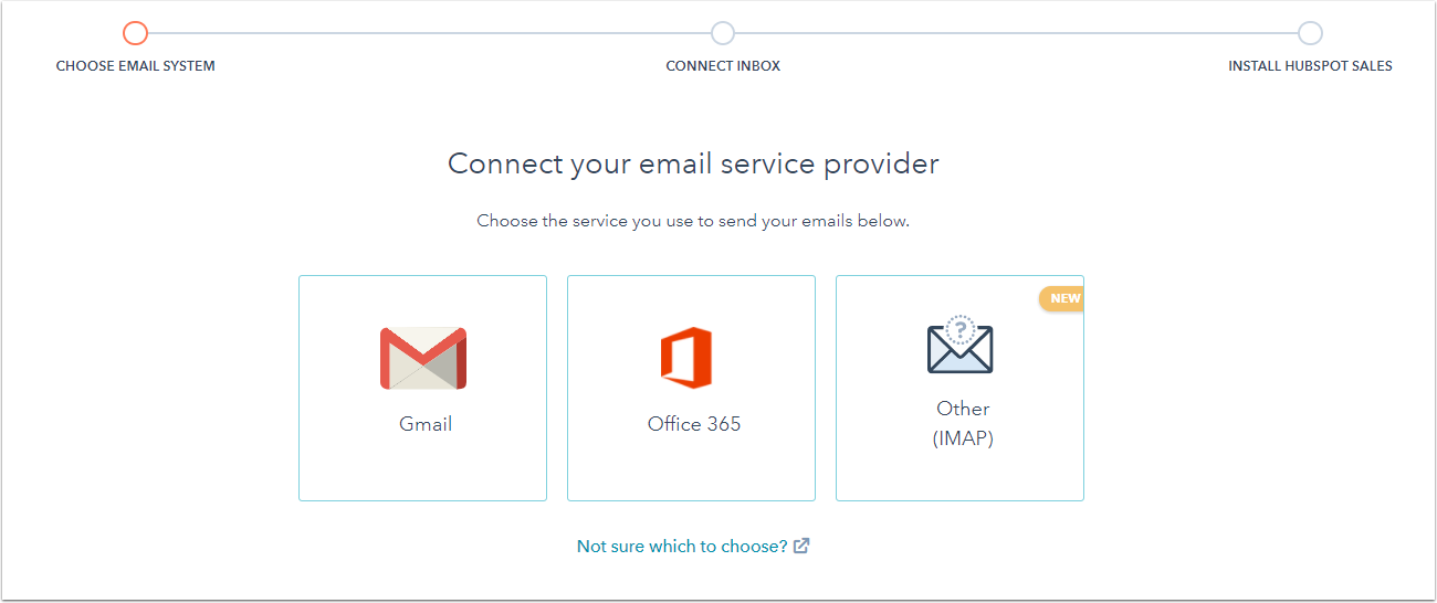 Select Email Client