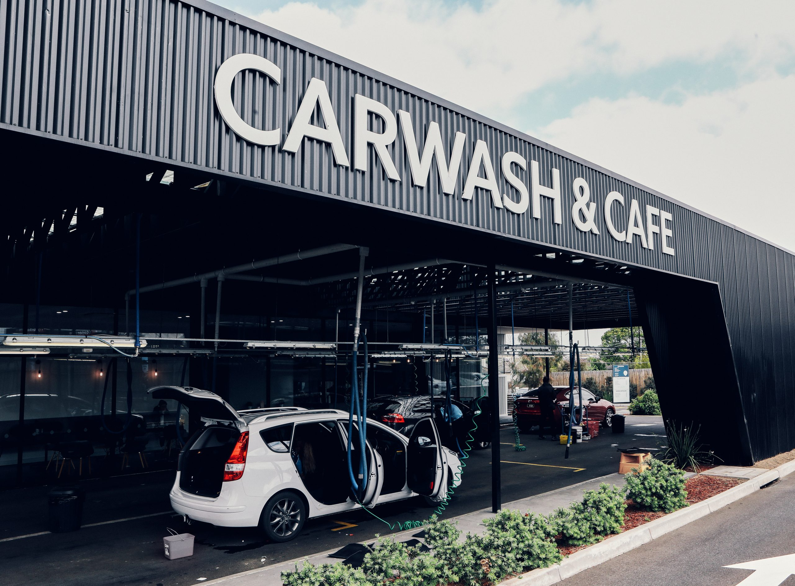 Carwash Cafe Scaled